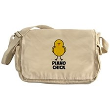 Piano Chick Messenger Bag