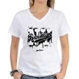 Brooklyn ny Womens V-Neck T-shirts
