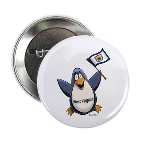 "West Virginia Penguin 2.25"" Button"