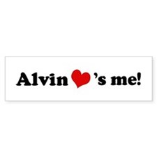 Alvin loves me Bumper Bumper Sticker