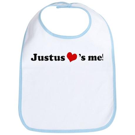 Justus loves me Bib