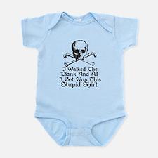 Walked The Plank Infant Bodysuit