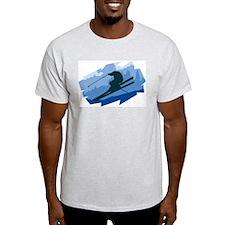 Ski Jumper Ash Grey T-Shirt