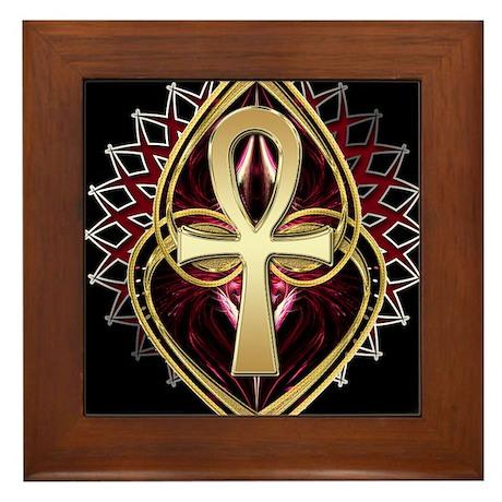 ANKH LOVE 1 Framed Tile