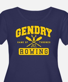 GOT Gendry Rowing Team Plus Size T-Shirt