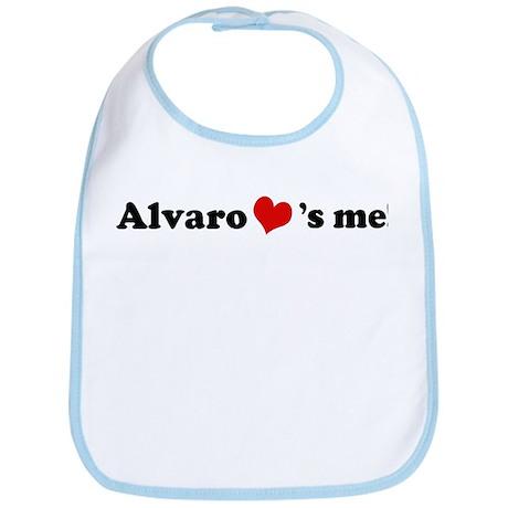 Alvaro loves me Bib