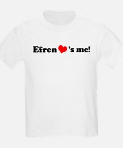 Efren loves me Kids T-Shirt