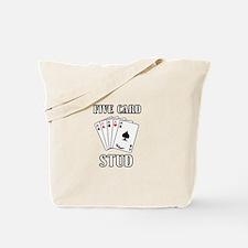 Five Card Stud Tote Bag