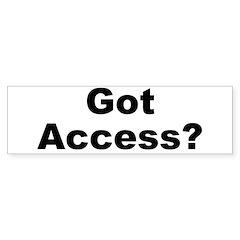 Got Access?