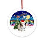 XmasMusic 3 -Guinea Pig #1 Ornament (Round)