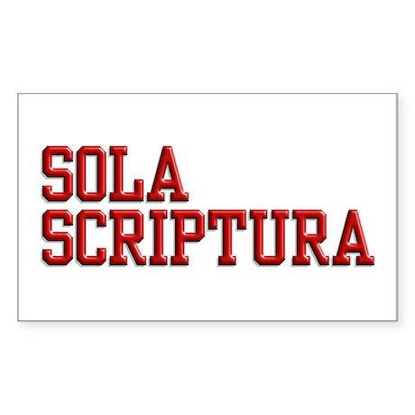Sola Scriptura - The Bible alone