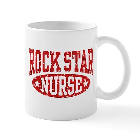 Rock Star Nurse Mug