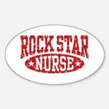 Rock Star Nurse Decal