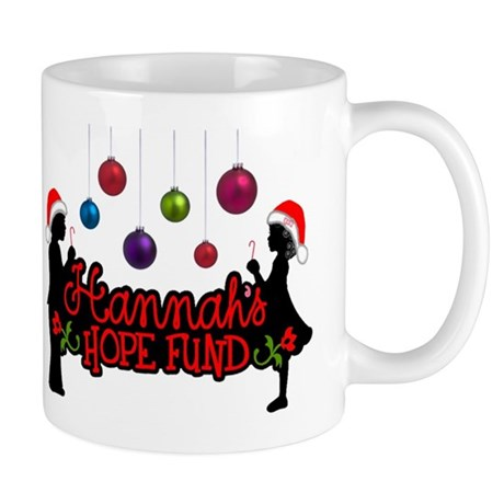 Hannah's Hope Christmas Logo Mug