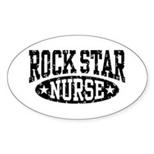Rock Star Nurse Decal
