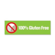 Cute Wheat free Car Magnet 10 x 3