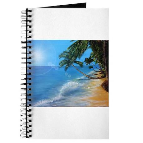 Tropical hawaji beach holiday Journal