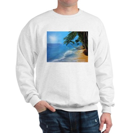 Tropical hawaji beach holiday Sweatshirt
