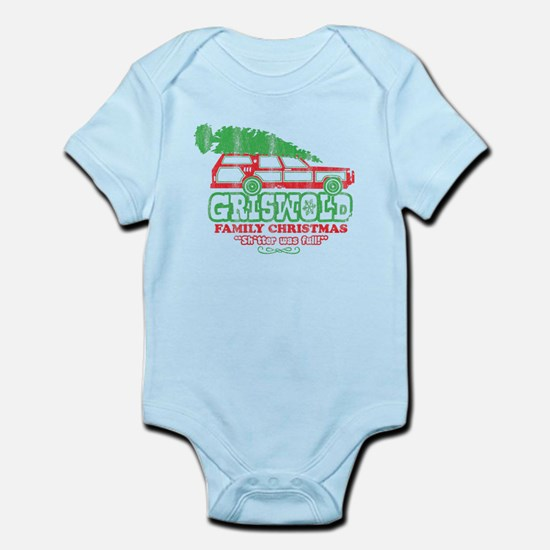 Infant Bodysuit Griswold Chirstmas