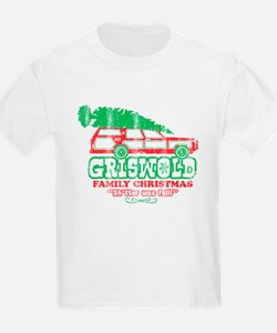 Kids Light Griswold Christmas T-Shirt