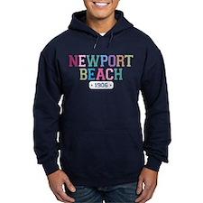 Newport Beach 1906 Hoodie