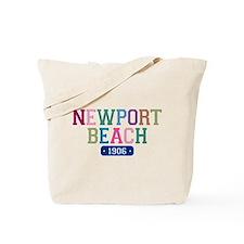 Newport Beach 1906 Tote Bag