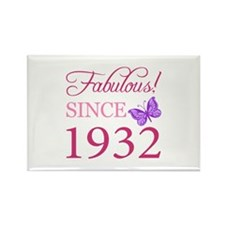 Fabulous Since 1932 Rectangle Magnet