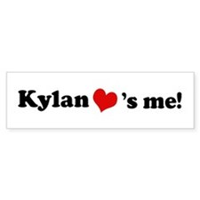 Kylan loves me Bumper Bumper Sticker