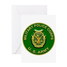 US Army Military Police Corps Greeting Card