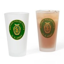 US Army Military Police Corps Drinking Glass