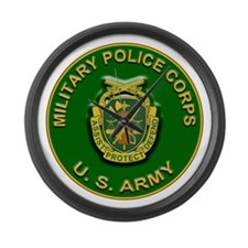 US Army Military Police Corps Large Wall Clock
