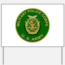 US Army Military Police Corps Yard Sign