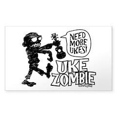 Uke Zombie Decal