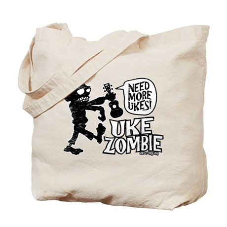 Uke Zombie Tote Bag