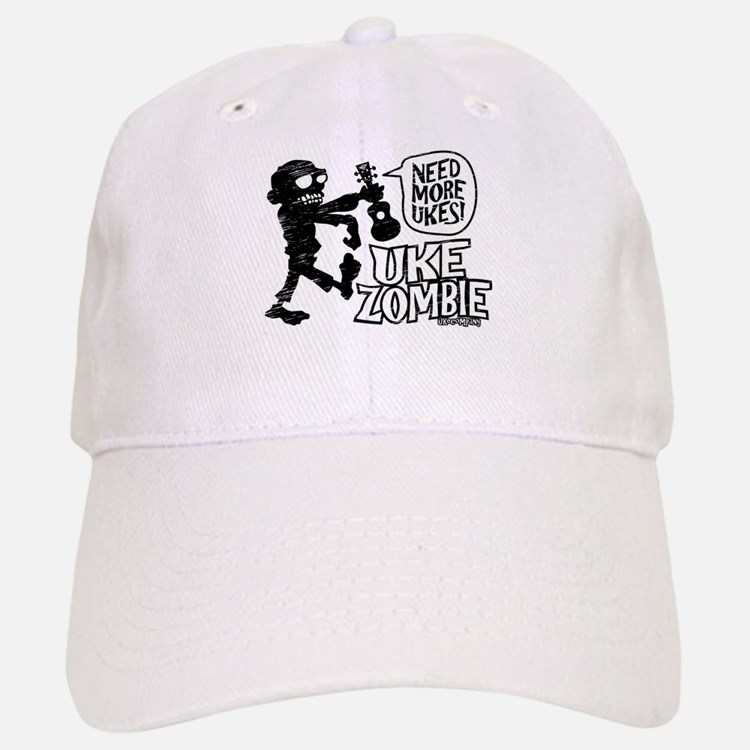 Uke Zombie Baseball Baseball Cap