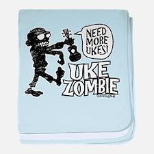 Uke Zombie baby blanket