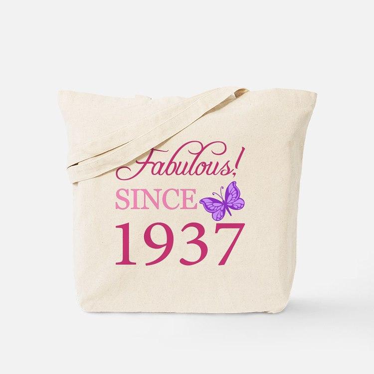 Fabulous Since 1937 Tote Bag