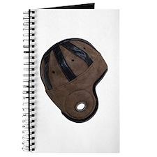 Retro Style Helmet Journal