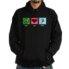 Peace Love Kites Hoodie