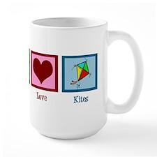 Peace Love Kites Mug