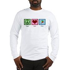Peace Love Kites Long Sleeve T-Shirt