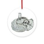 Ring Holder Diamond Ring Ornament (Round)