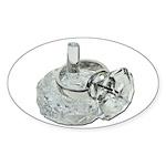 Ring Holder Diamond Ring Sticker (Oval 50 pk)