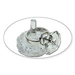 Ring Holder Diamond Ring Sticker (Oval 10 pk)