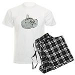 Ring Holder Diamond Ring Men's Light Pajamas