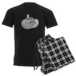 Ring Holder Diamond Ring Men's Dark Pajamas