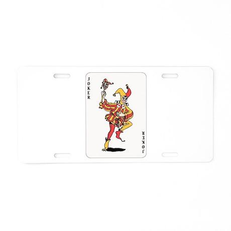 Joker Aluminum License Plate