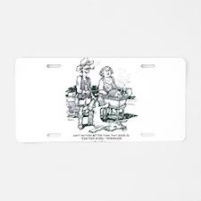 Thrillbilly Aluminum License Plate