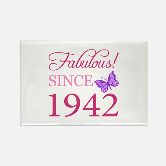 Fabulous Since 1942 Rectangle Magnet