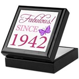 1942 Square Keepsake Boxes